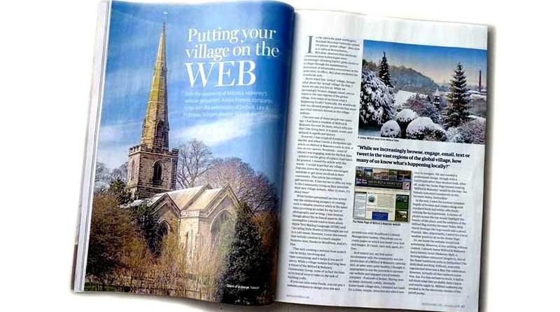 Derbyshire Village Websites in Focus