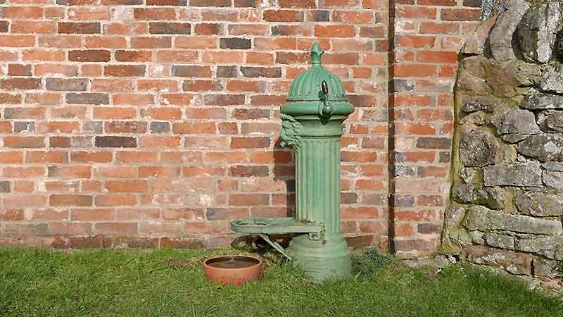 Ticknall Water Spouts