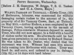 1896-07-01 Derby Mercury (extract) - Richard Dexter