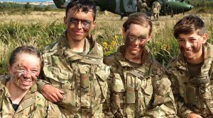 Army Cadets in Ticknall