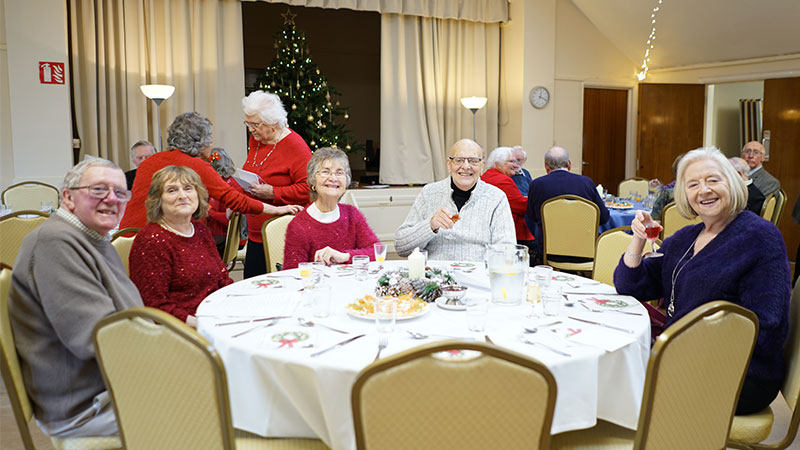 Lunch Club Christmas festivities 2018