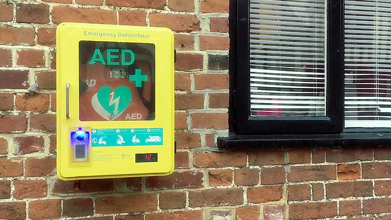 Use of the Defibrillator