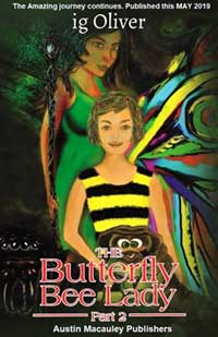 Pre-order Part 2 of the Butterfly Bee Lady