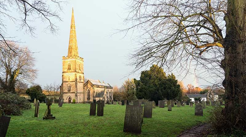 St, George's Church, Ticknall