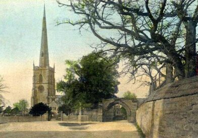 St Wystan's parish church, Repton